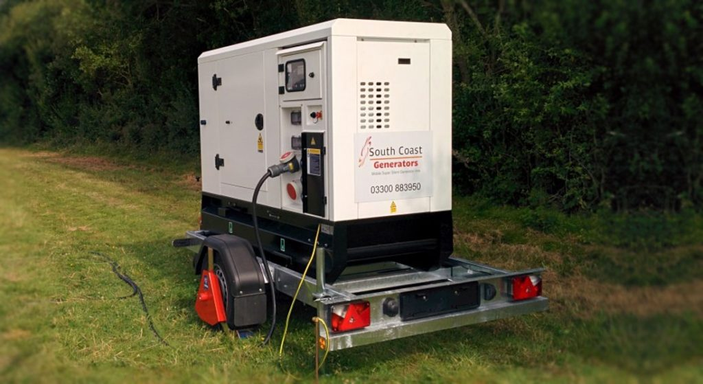 Generator Hire for Outdoor Events | South Coast Generators