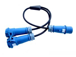 32A 230V Soft Splitter Cable